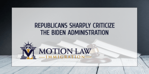 Republicans blame the Biden administration for the current border situation