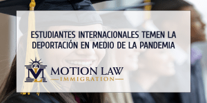 Estudiantes internacionales pueden solicitar un ajuste de estatus