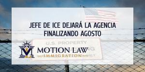 Posición de jefe de ICE cambiará en septiembre