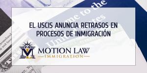 Se cancelan suspensiones de empleados del USCIS a cambio de atrasos en procesos migratorios