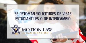 Estudiantes internacionales ya pueden solicitar visas