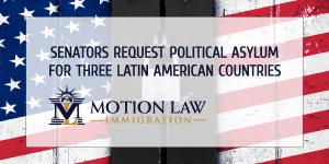 Senators request asylum for Nicaraguans, Venezuelans and Cubans