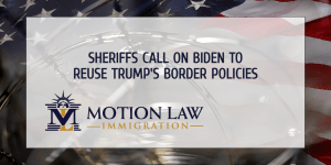 Sheriff's Coalition Call on Biden to Implement Stricter Border Policies