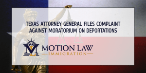 Texas Attorney General files legal complaint against the Biden administration