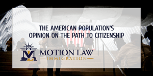 What do Americans think regarding the path to citizenship?