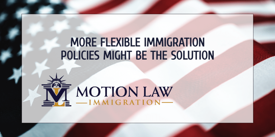 More flexible immigration policies might be the solution