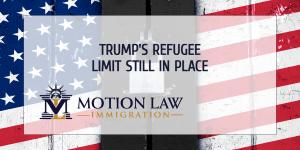 Biden hasn't changed the annual refugee limit yet