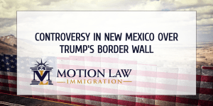 Survey shows that 52% voters in NM does not support Trump's border wall