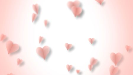 Paper Hearts Valentines Video Greeting