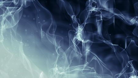 Abstract Plasmic Ribbons and Particles Background