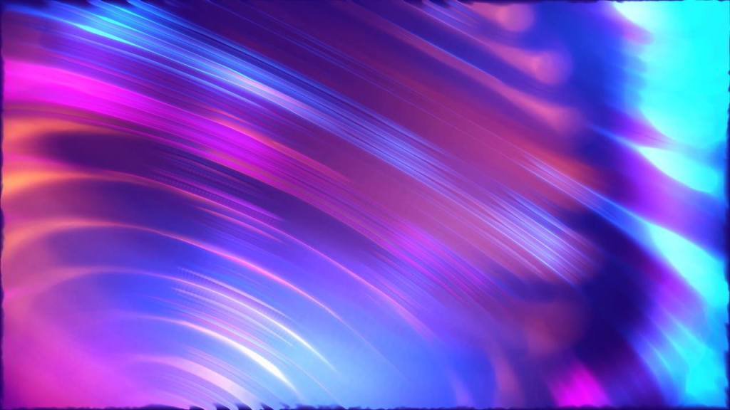 Colorful Neon Lights Video Background