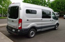Ford Transit Conversion Vans with Windows