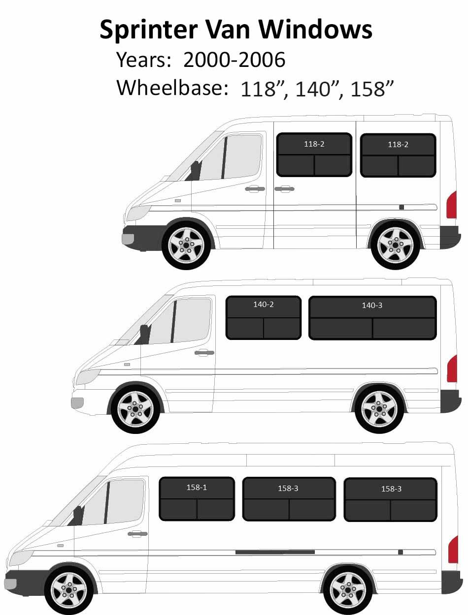 Windows For Mercedes Sprinter Conversion