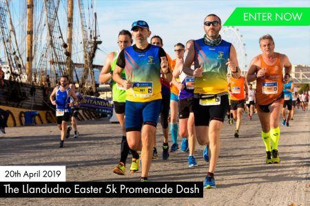 The Llandudno Easter 5k Promenade Dash