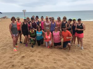 Portugal Bootcamp May 2018 - the ladies smashed it! Motivate Bootcamp