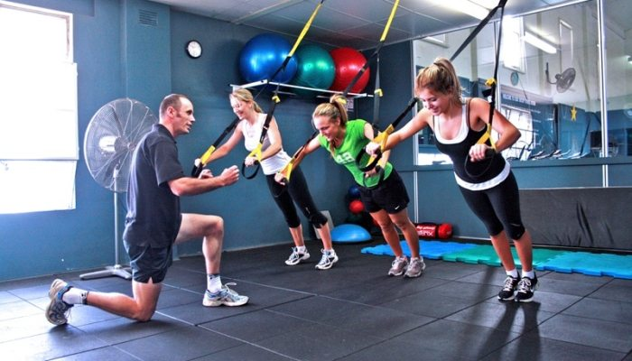 group fitness bootcamp