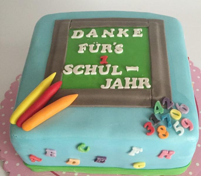Einschulung  Annas Werke in Bonn  Motivtorten Cupcakes