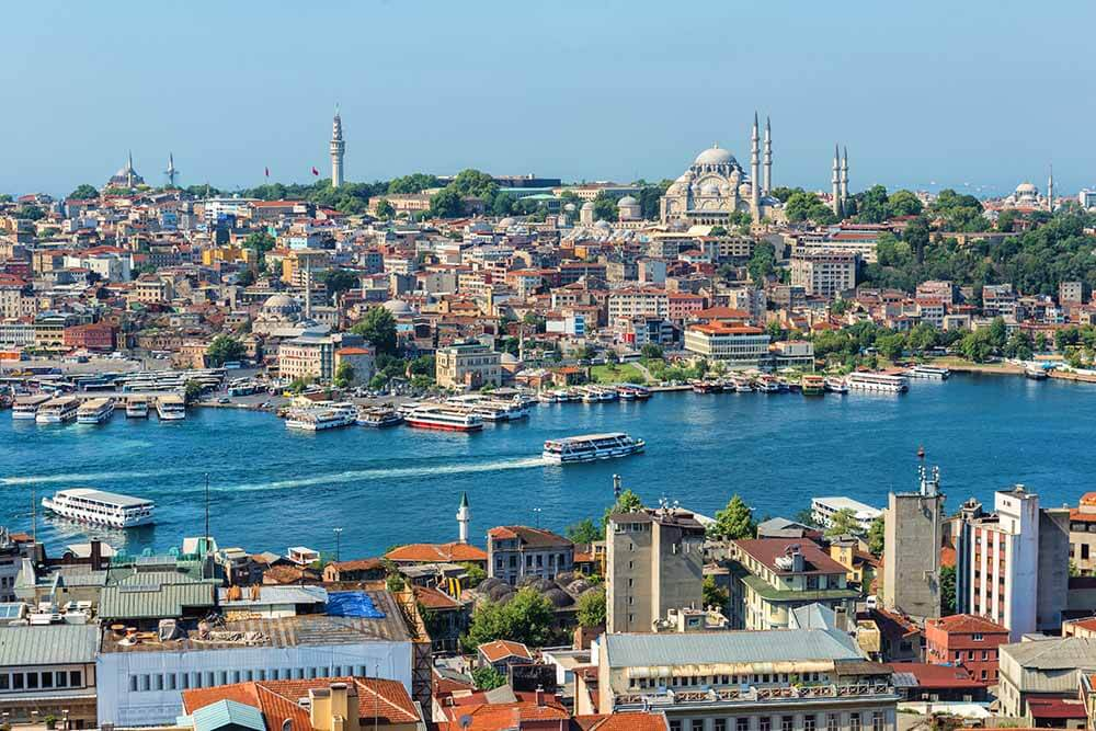 Grand Canal and the Haliç (Golden Horn)