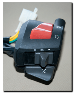 Aprilia Caponord ETV1000 Rally-Raid headlight & sidelight switch