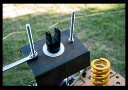 Aprilia Caponord ETV1000 Rally-Raid rear shock absorber spring compressor Hyperpro