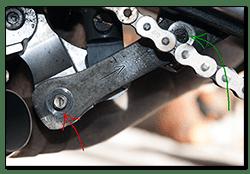 Aprilia Caponord ETV1000 Rally-Raid suspension dog bone conrod AP8146758 AP8146193