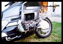 Honda GL1500 with cam-cover-camera!