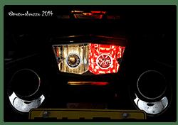 Aprilia Caponord ETV1000 Rally-Raid - 5/21w incandescent & Type-380 60 red LED bulb