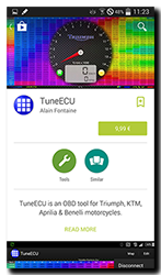 TuneECU for Andriod on Google Play Store