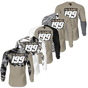 Back of sand motorsports jersey range