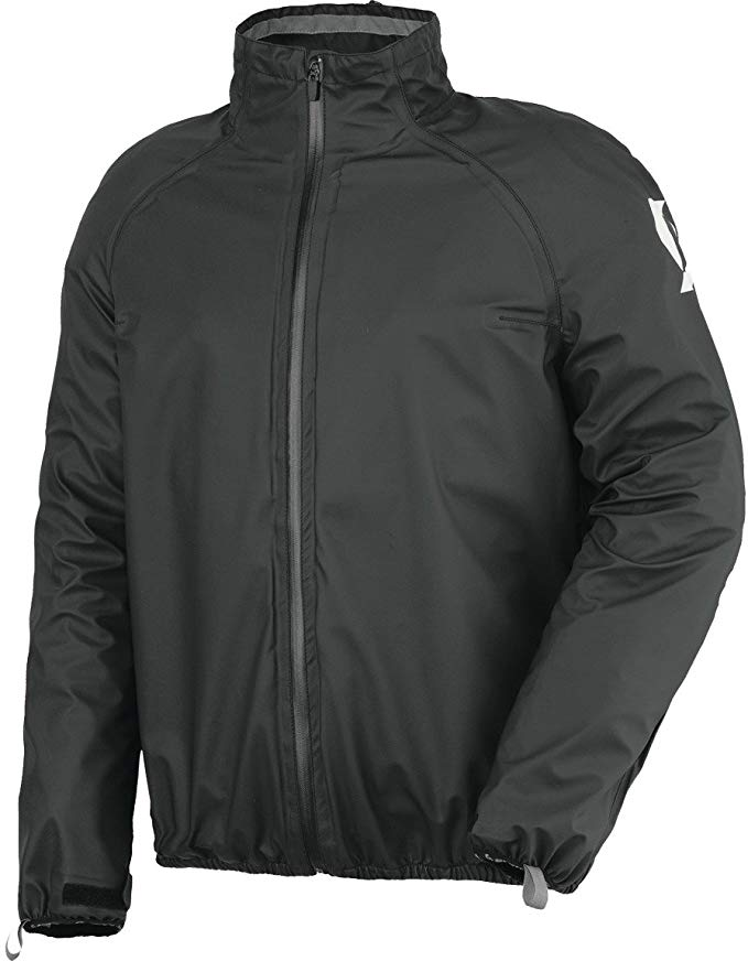 SCOTT Ergonomic Pro DP Rain Jacket Black Image