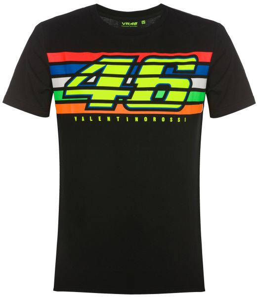 T-Shirt VR46 Stripes 350304 Image