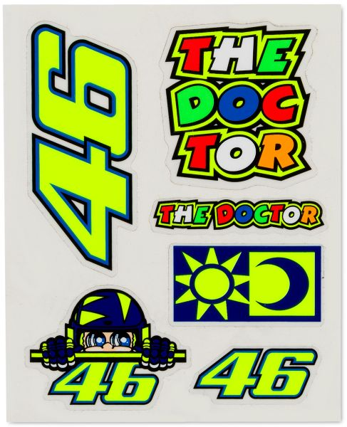 Stickers VR46 Small Set 356703 Image