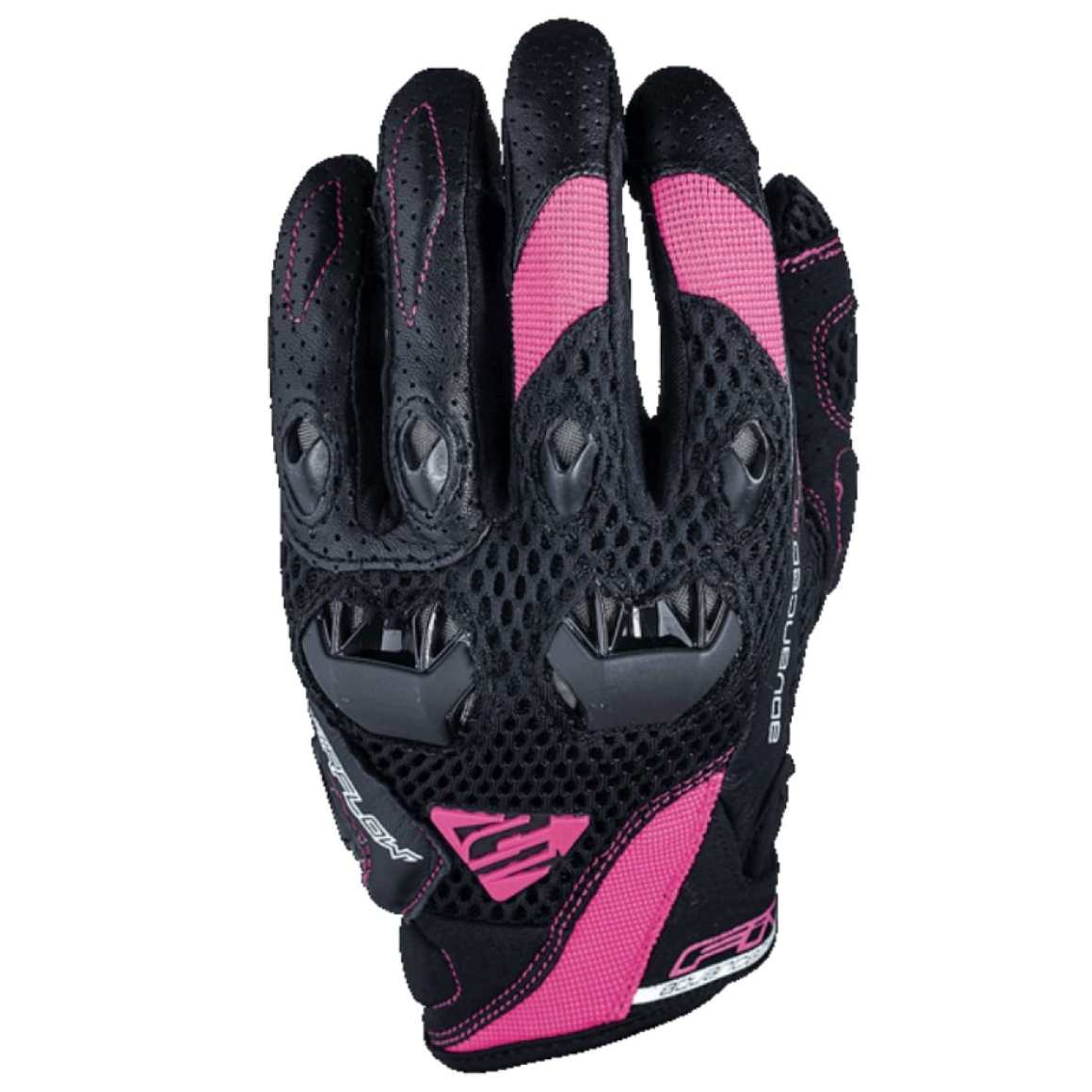 FIVE Gants Stunt Evo Airflow Lady Noir/Rose Image