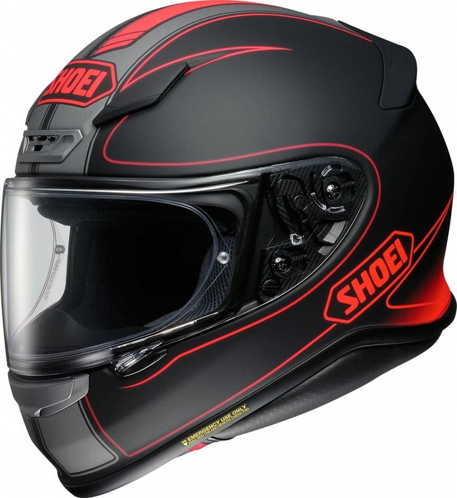 Shoei NXR Flagger TC-1 Image