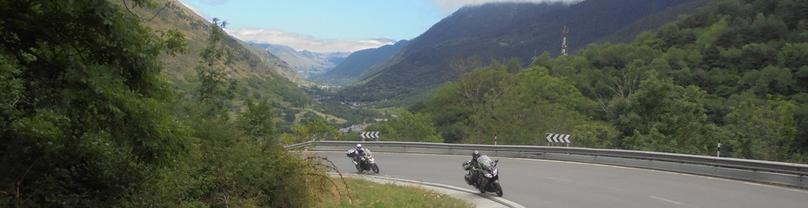 Moto-Pyrénées balades moto