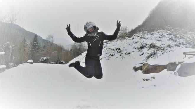 equipement moto hiver