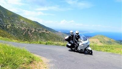 Printanière 2 : Moto Pyrénées balades voyages vacances Mer et Montagne