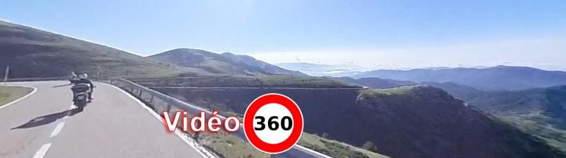 Moto Pyrénées vous filme à 360° pendant ses balades moto dans les Pyrénées