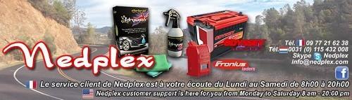 Batteries moto, chargeurs Nedplex