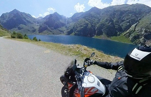 La Super Adventure est une moto très maniable