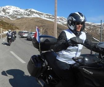 WRWR accueilli par Moto-Pyrénées dans les Pyrénées