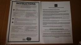 Instructions pour la pose du kit déco