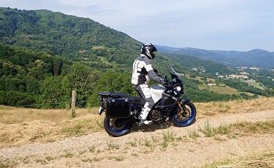 essai ténéré Vue des pistes empruntées dans les Pyrénées lors de l'essai Tout-Terrain du Super Ténéré 1200
