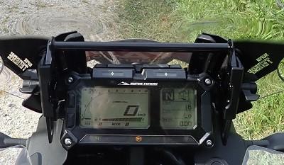 essai ténéré tableau de bord du XT1200ZE LCD
