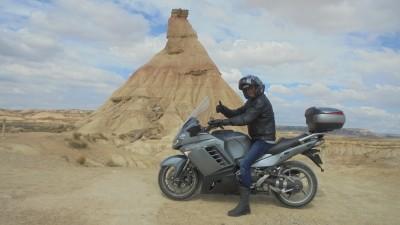 les Bardenas avec Moto-Pyrénées