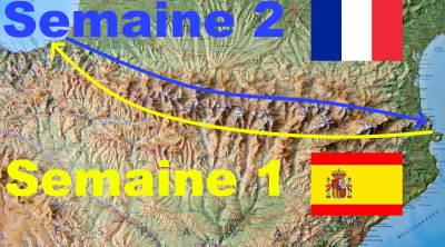 Traversée Pyrénées sur 2 semaines
