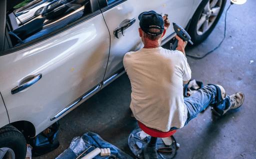 preparing a car for sale