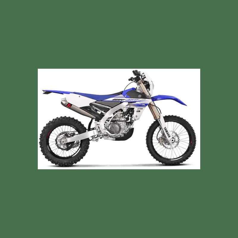 Motorrad Auspuff Akrapovic Yamaha WR 450 F S-Y4SO14-CIBNTA