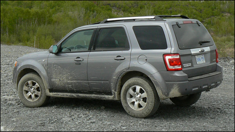 2008 Ford Escape 4x4 XLT Limited Road Test