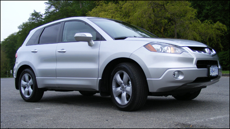 2008 Acura RDX Technology Review